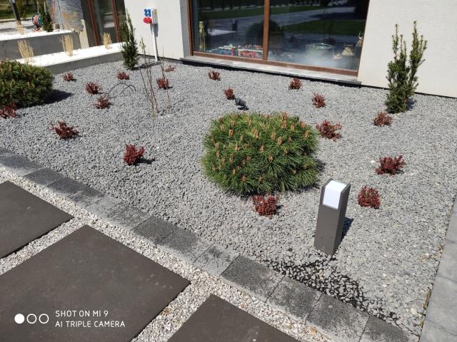 Realizacja ogrodu przez firmę ogrodniczą Garden z Wasilkowa